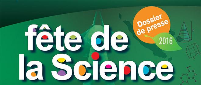 Dossier presse – Fête de la science 2016